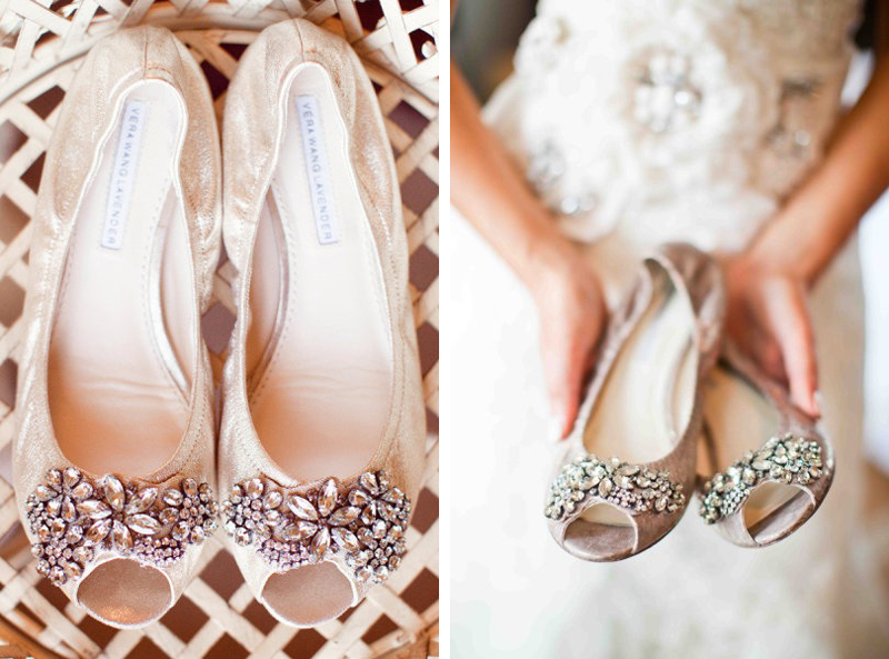 Wedding Heels With Rhinestones: Shine Trim: Wedding DIY Inspiration: Rhinestone Ballerina