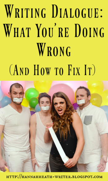 Writing Dialogue: What You're Doing Wrong (And How to Fix It)