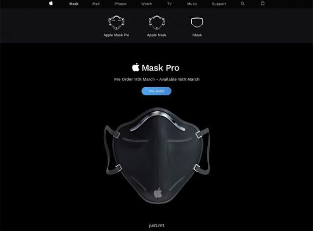 """Topeng Muka """"Apple Mask Pro"""" Dihasilkan. Pasti Anda Suka"""