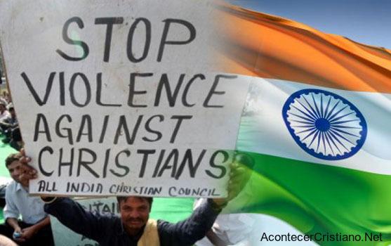 Piden detener violencia contra los cristianos en India