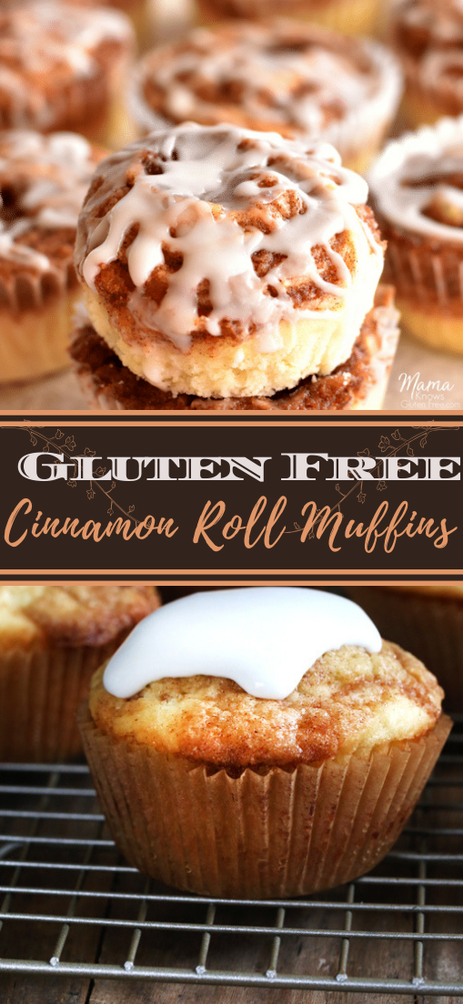 Gluten Free Cinnamon Roll Muffins #desserts #cakerecipe #chocolate #fingerfood #easy