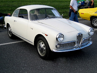 Bertone's Alfa Romeo Giulietta Sprint
