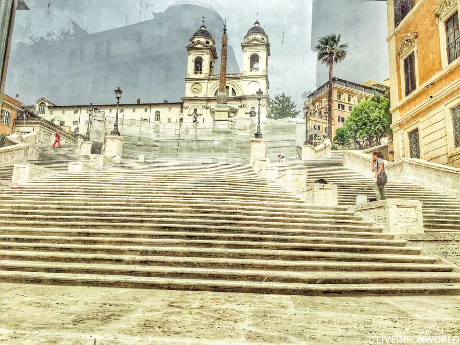 Spanish steps (Španielske schody)