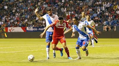 Puebla le mete 3 goles a Toluca