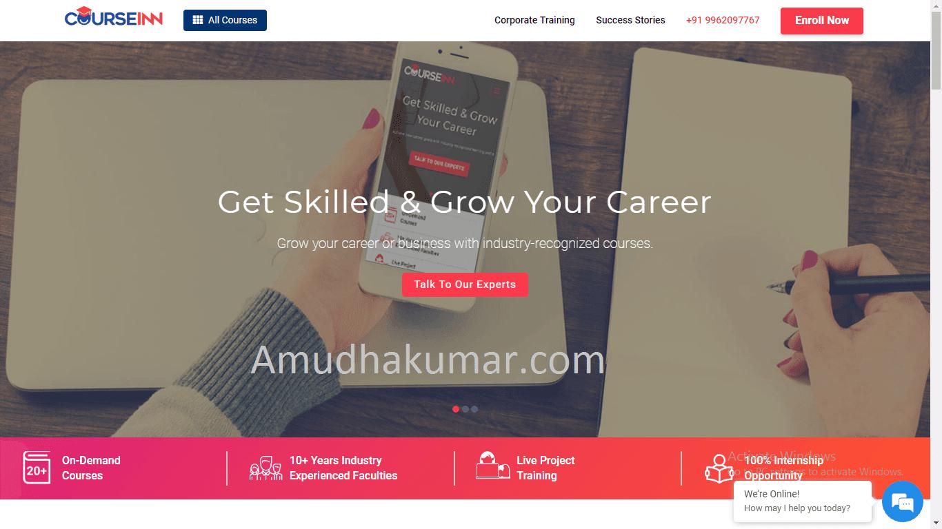 Courseinn Digital Marketing Training Institute in chennai Amudhakumar