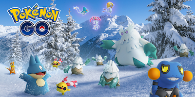 Pokemon Go Christmas Event 2018