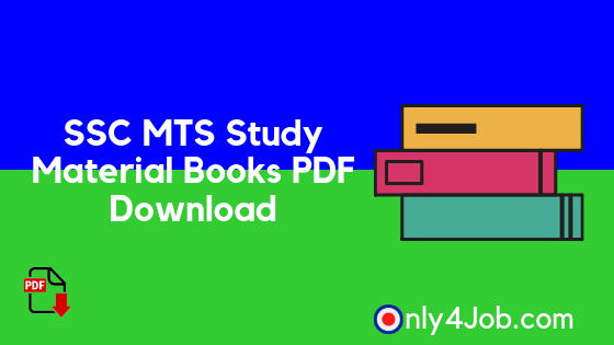 SSC MTS Study Material Books Pdf Free Download - Only4Job Com : Free