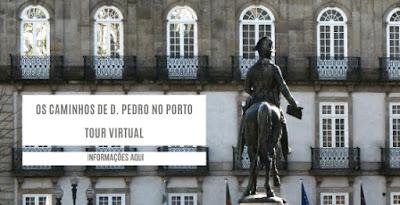 Imagem de D. Pedro na Praça da Liberdade