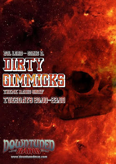 dirty gimmicks show, downtuned radio