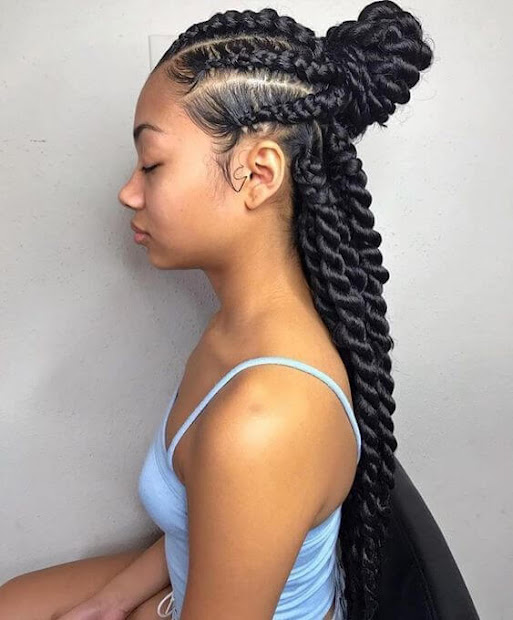 trendy cornrows braids hairstyles