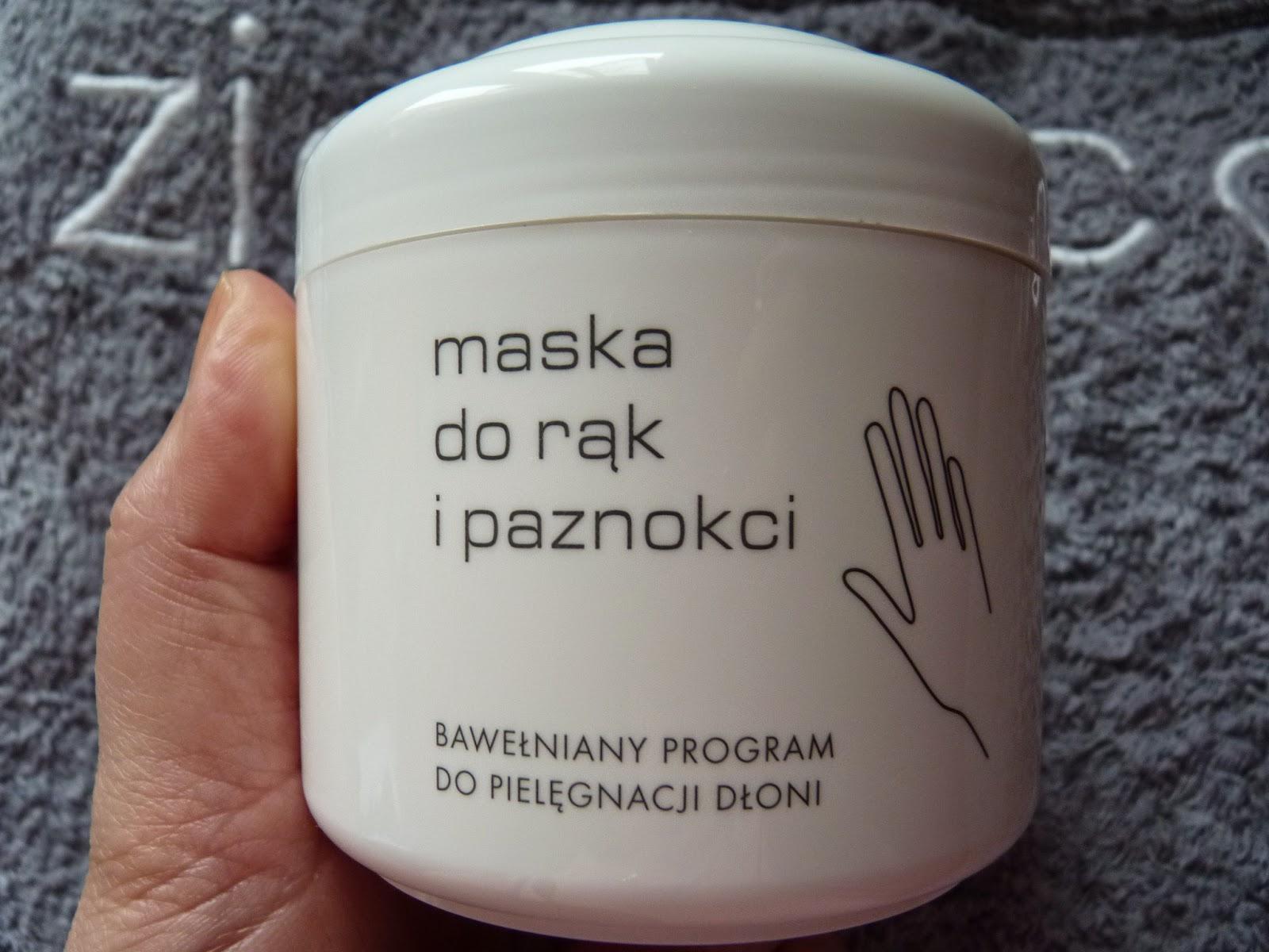 regenerująca maska krem do zniszczonej skóry rąk dłoni