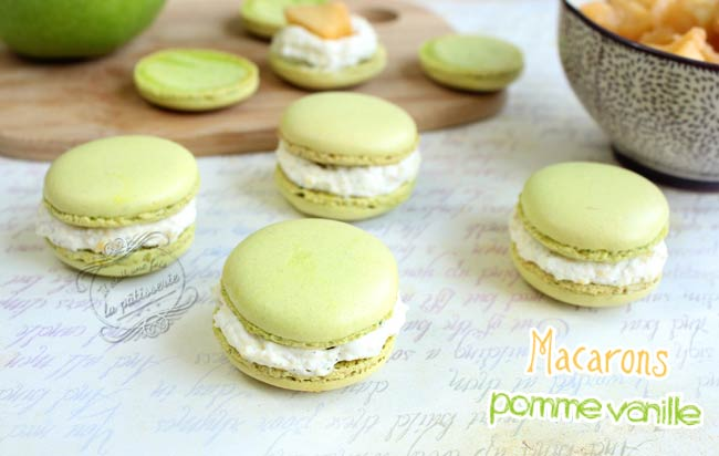 macarons vert