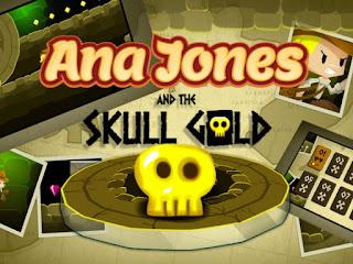 jogo Ana Jones and the Skull Gold online