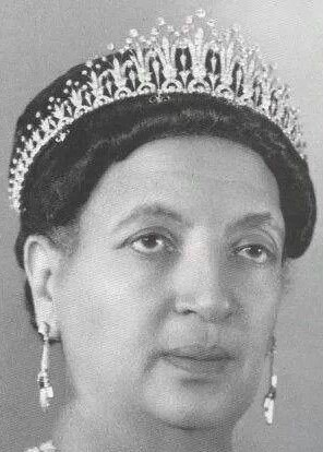 diamond tiara empress menen asfaw of ethiopia