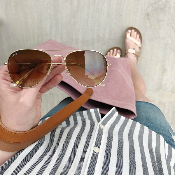 diff charitable eyewear, north carolina blogger, casual style, style on a budget, spring style
