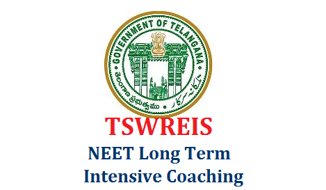 TSWREIS NEET Long Term Intensive Coaching Admission Apply Online for Selection  Applications are invited from Boys and Girls for admission into Long term coaching for NEET-2020. The coaching shall be provided at TSWR COE (G), Gowlidoddi, Ranga Reddy District. tswreis-neet-long-term-intensive-coaching-admission-selection-apply-online