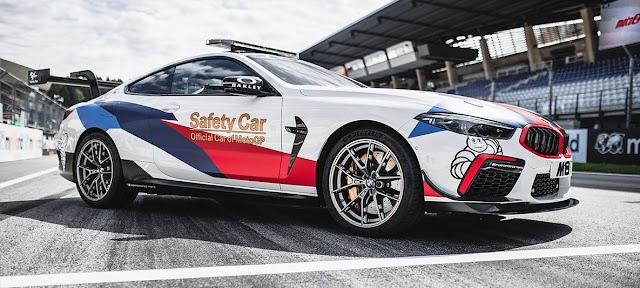 The New BMW M8 MotoGP™ Safety Car : 1% Fuel consumption