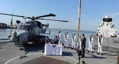 Украина и Великобритания будут совместно строить военные корабли для ВМС