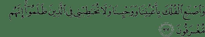 Surat Hud Ayat 37