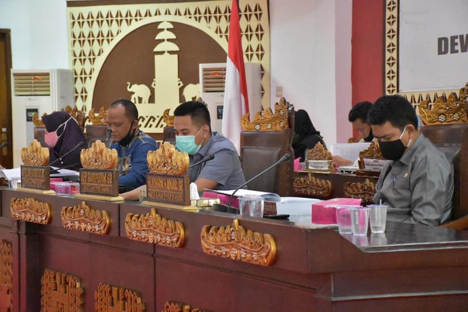 PANSUS LKPJ WALIKOTA BANDAR LAMPUNG Tahun 2019 MELAKUKAN RAPAT DENGAN (OPD) dan DPRD Bandar Lampung