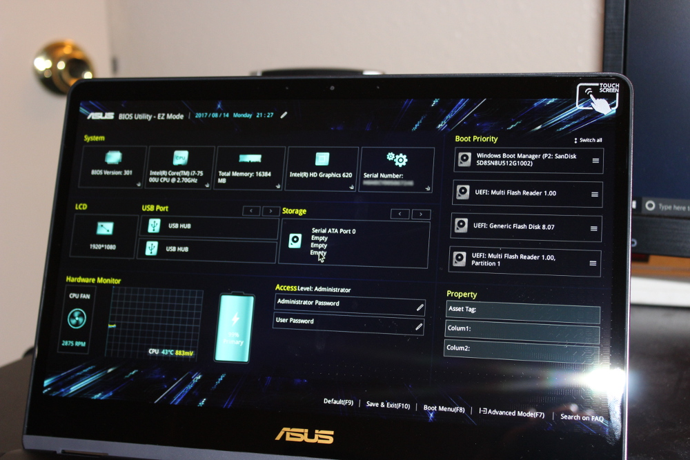 Garrett's Blog: Installing Linux and Windows on the Asus Q325