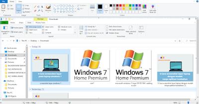cara sreenshot layar leptop windows 7