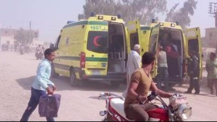 مصرع وإصابة 21 شخصًا في حادث تصادم بطريق المنيا الزراعي
