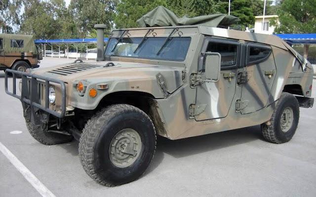 Αυτό είναι το επιβλητικό Hummer του Δ' ΣΣ που θωρακίζει τα σύνορά μας (ΦΩΤΟ-ΒΙΝΤΕΟ)