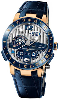 Ulysse Nardin El Toro Men's Rose Gold Automatic Perpetual Calendar Watch 326-00