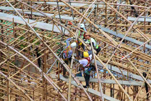 Scaffolding dari Bambu