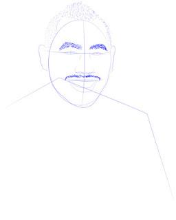 Langkah 7. Super Simpel Menggambar Dimitri Payet