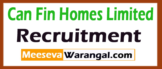 Can Fin Homes Limited CFHL Recruitment