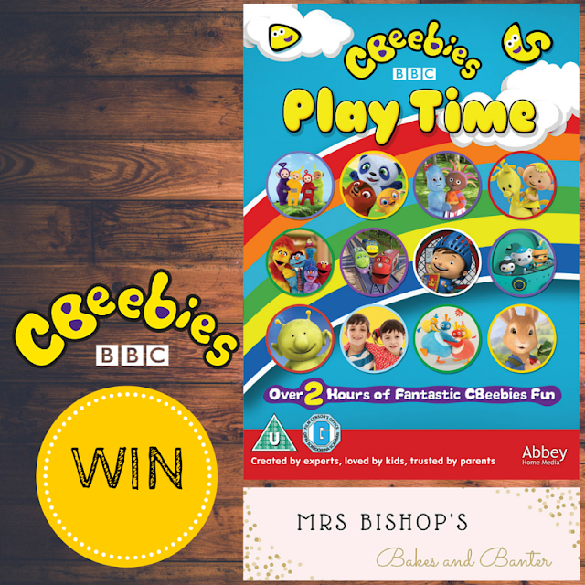 WIN CBeebies Play Time DVD with Mrs Bishop