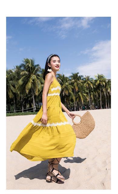 Shop ban vay maxi di bien o Kim Giang