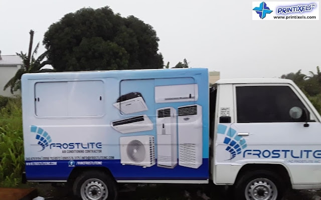 Vehicle Wrap for Van - Frostlite Philippines