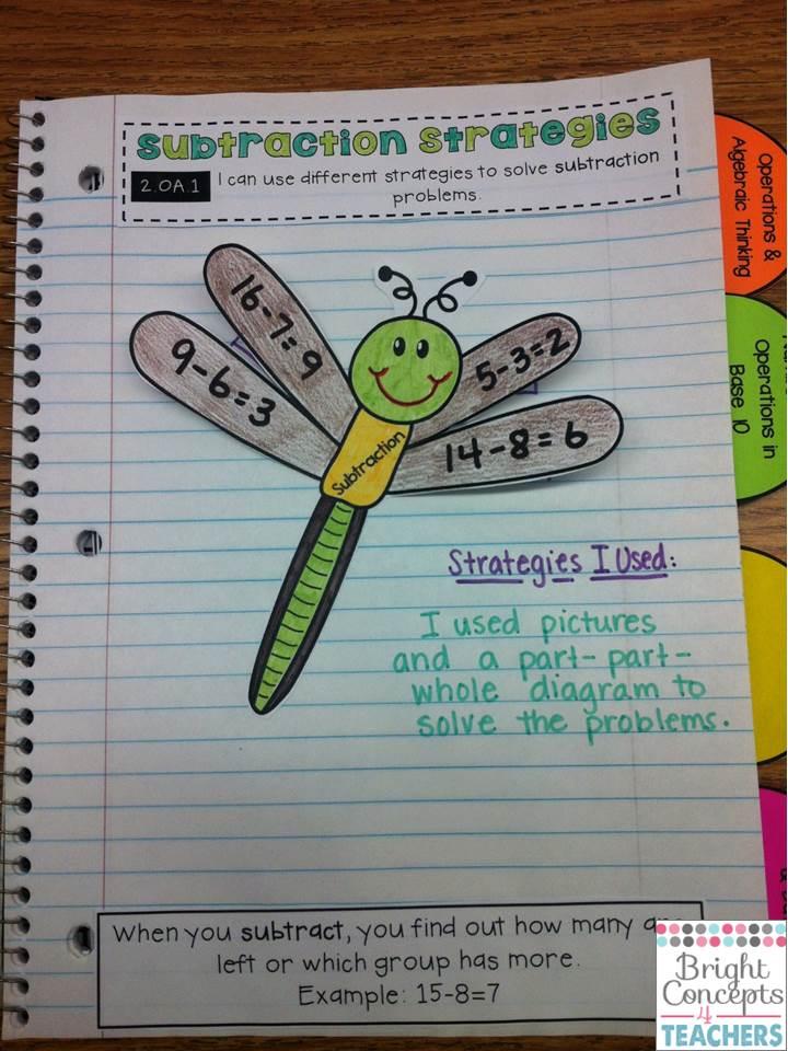 My New Best Friend Math Interactive Notebooks
