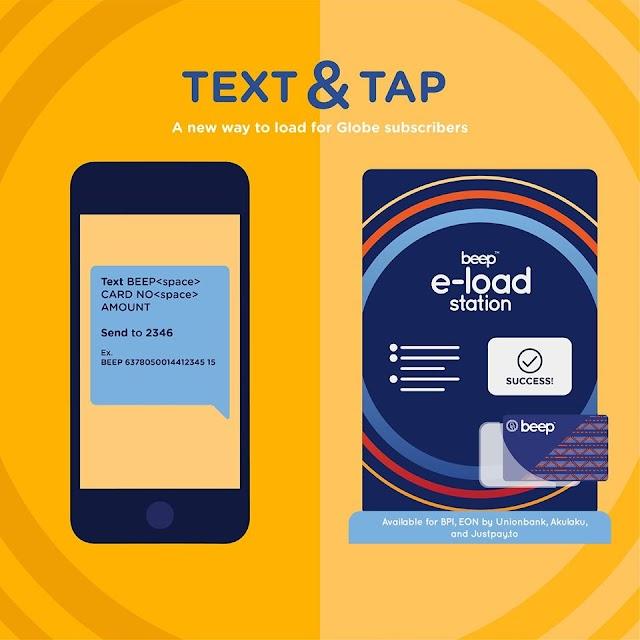 Loading Beep Card , One Text Away