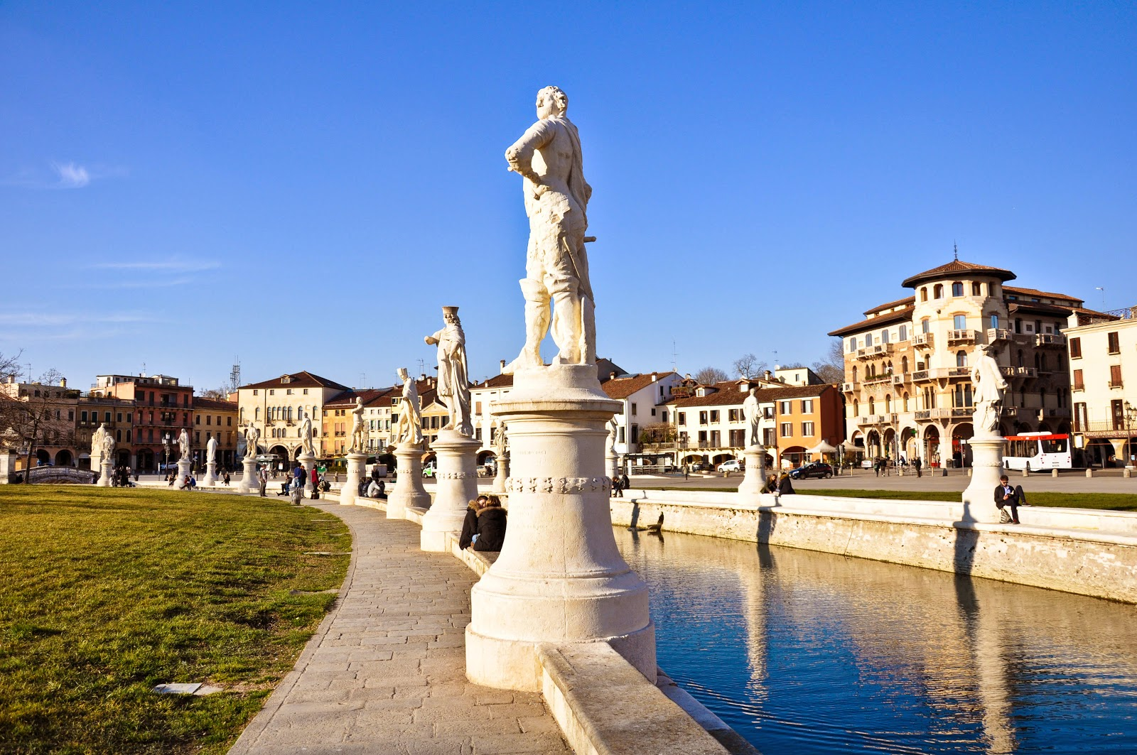 Padua's Prato della Valle is the biggest square in Italy