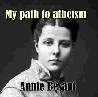 My path to atheism by Annie Besant
