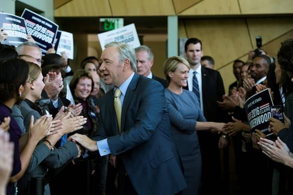 Netflix lanza un primer vistazo de la 5ta temporada de House of Cards