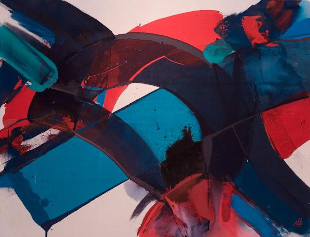 jean baptiste besançon artiste peintre mouvement abstraction lyrique