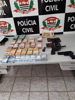 Em ação rápida, Polícia Civil prende quadrilha que roubou Agência dos Correios da Barra do Turvo