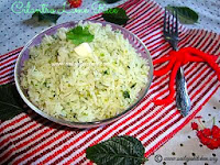 Cilantro Lime Rice / Coriander Lime Rice / Lime Cilantro Rice Recipe / Chipotle's Rice Recipe /Garlic Cilantro Lime Rice Recipe