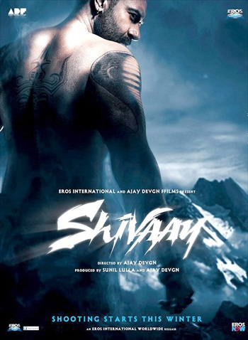 Shivaay 2016 Hindi 480p DVDScr 450mb Download