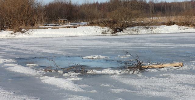 Лед стал опасным