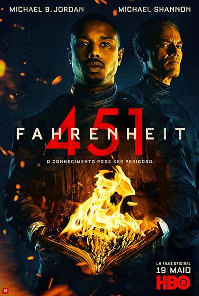 Fahrenheit 451 (2018) - BDRip Dual Áudio