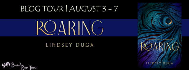 Blog Tour with Giveaway: Roaring by Lindsey Duga