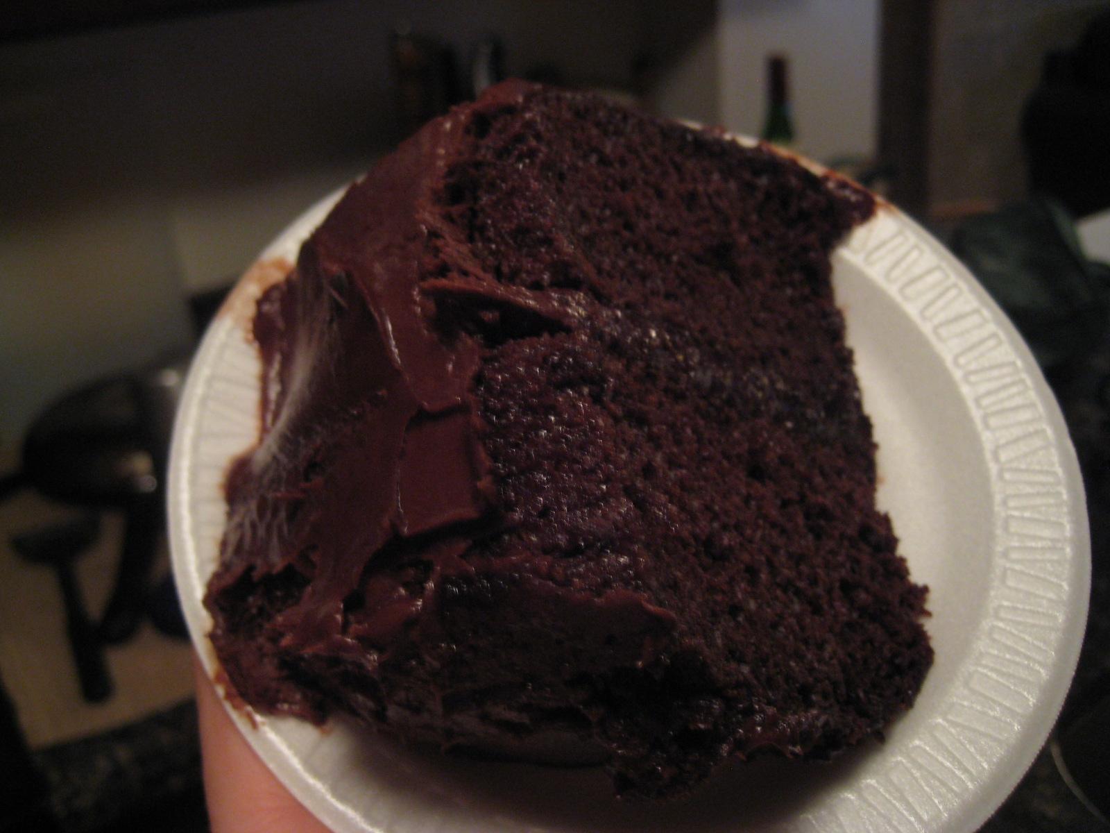 Portillos Chocolate Cake Birthday