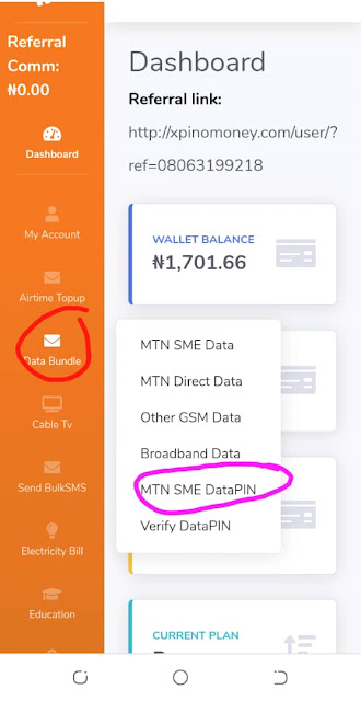XpinoMoney, MTN DataPIN, Nigeria, Data Vendor, Business, Invest, Xpino Money App, Manual, Tech Tips