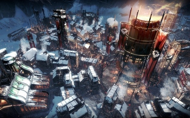 The strategy game Frostpunk is shared for free